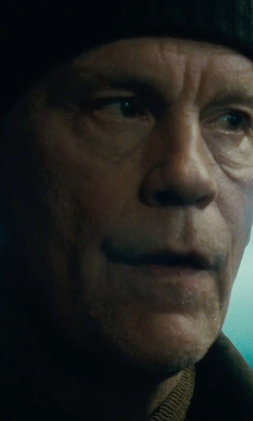 John Malkovich with Dakine Knit Beanie Hat in Warm Bodies