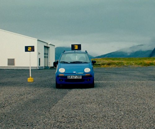 Ben Stiller with Daewoo Matiz SE 800 Car in The Secret Life of Walter Mitty