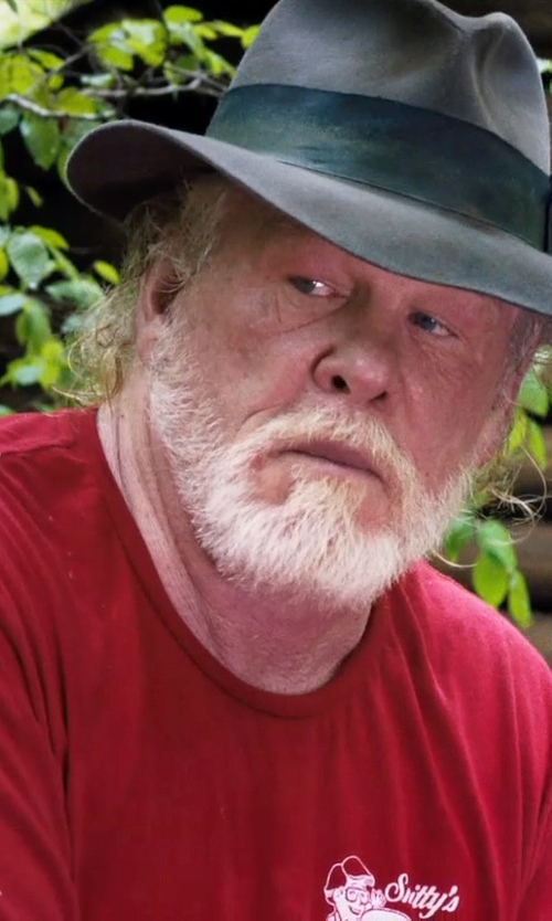 Nick Nolte with Terramar Dri-Release T-Shirt in A Walk in the Woods