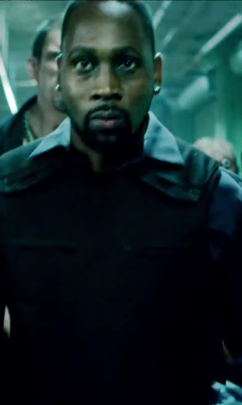 RZA with Armor Corr Bullet Proof Vest in Brick Mansions