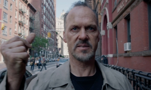 Michael Keaton with De La Salle Academy New York City, New York in Birdman
