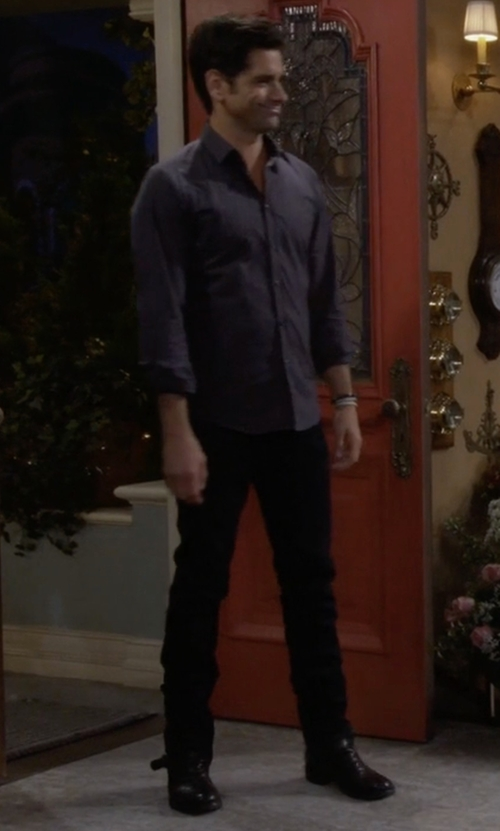 John Stamos with Serene Casual Tactical Boots in Fuller House