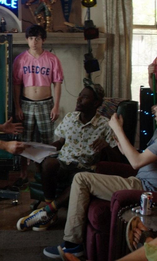 Jerrod Carmichael with Brixton Men's Toil II Short in Neighbors