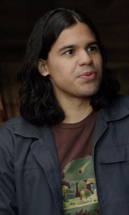 Carlos Valdes with Cova 'Krypto' Bedford Cord Jacket in Arrow