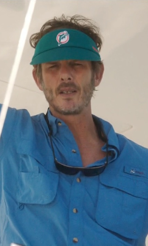 Peter Berg with Hides H2O Floating Eyewear Sunglasses in Ballers