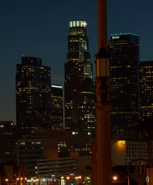 Unknown Actor with U.S. Bank Tower Los Angeles, California in Horrible Bosses 2