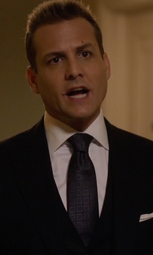Gabriel Macht with Tom Ford Windsor Base Peak-Lapel Two-Piece Suit in Suits