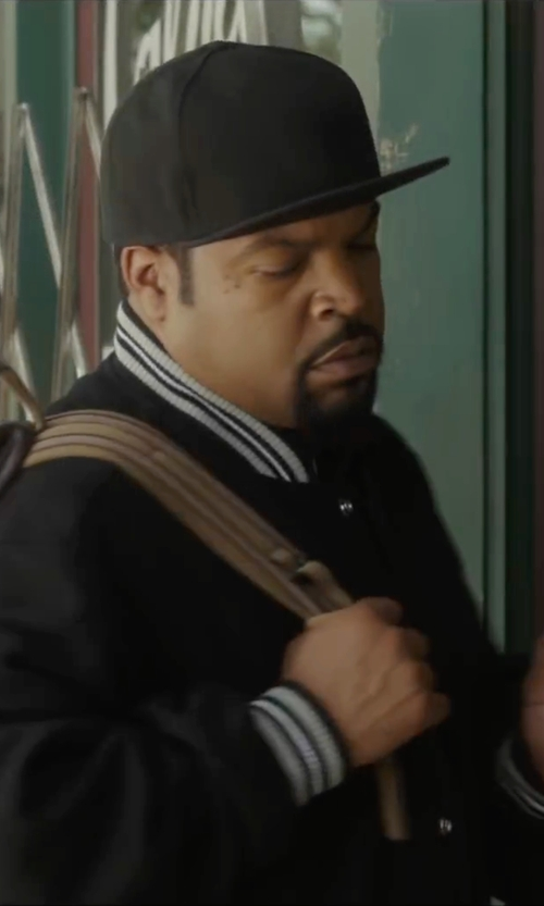 Ice Cube with Carhartt WIP Brooks Cap in Barbershop: The Next Cut