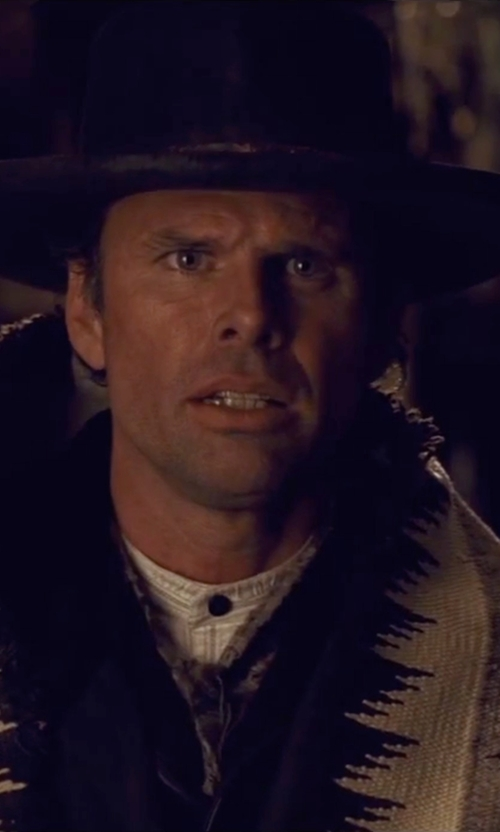 Walton Goggins  with HTC Hollywood Trading Company Lapin Pork Pie Hat in The Hateful Eight