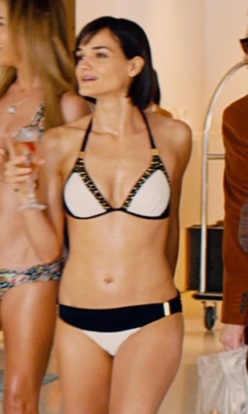 Jamie Bernadette with Victoria's Secret Low-Rise Bikini Bottom in Mortdecai