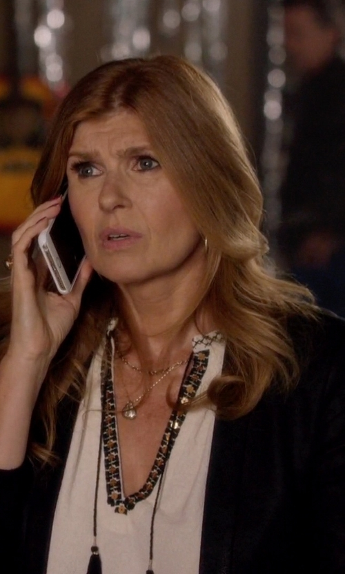 Connie Britton with NYDJ Combo Double Knit Blazer in Nashville