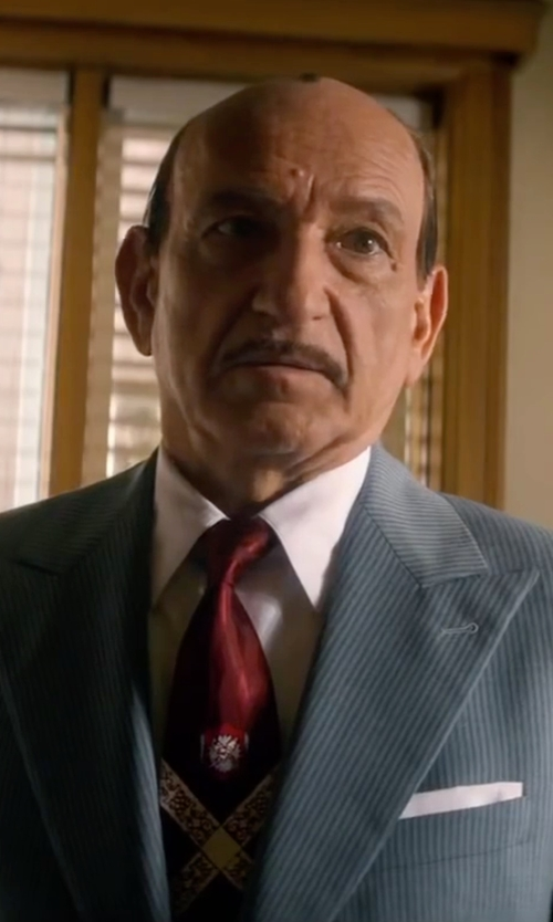 Ben Kingsley with Robert Talbott Classic Fit Dress Shirt in Life