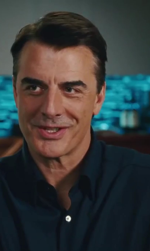 Chris Noth with Alfani RED Non-Iron Herringbone Solid Shirt in Sex and the City 2