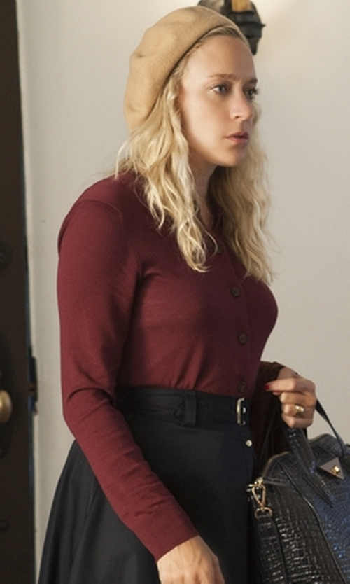 Chloë Sevigny with Nordstrom Solid Cashmere Beret in American Horror Story