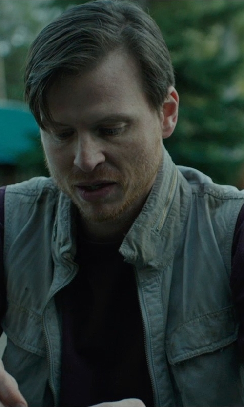 Kevin Rankin with John Ashford Short Sleeve Crew Neck T Shirt in Wild