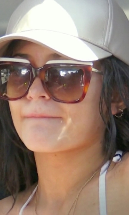 Kylie Jenner with Fendi Square-Framed Tortoiseshell Sunglasses in Keeping Up With The Kardashians