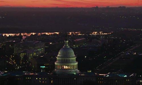 United States Capitol Washington, D.C. in Iron Man 3