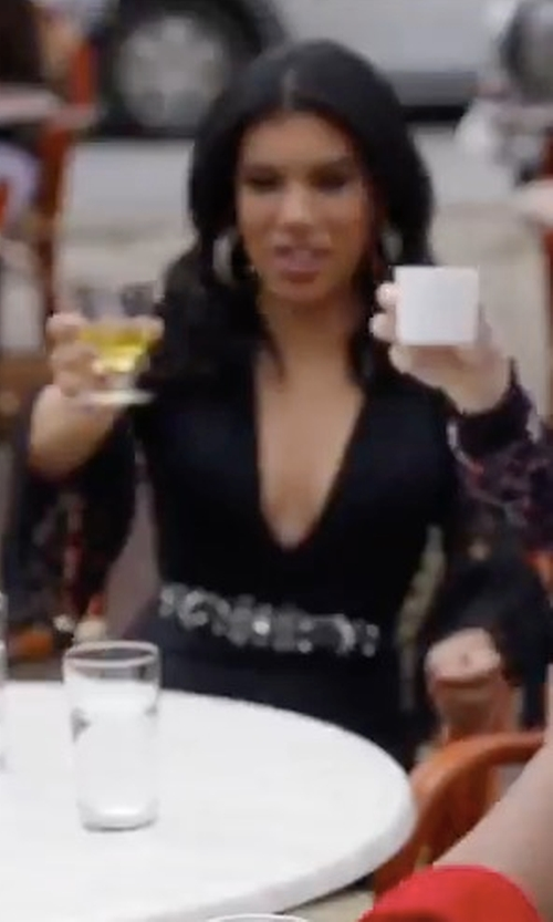 Chrissie Fit with Mustard Seed Lace Bell Sleeves Mini Cocktail Dress in Pitch Perfect 3