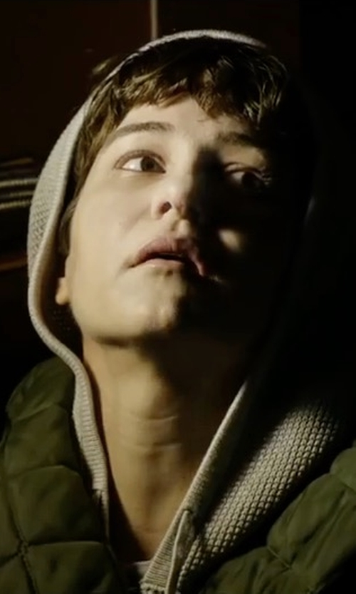 Katherine Waterston with Vince Quilted Bomber Jacket in Alien: Covenant