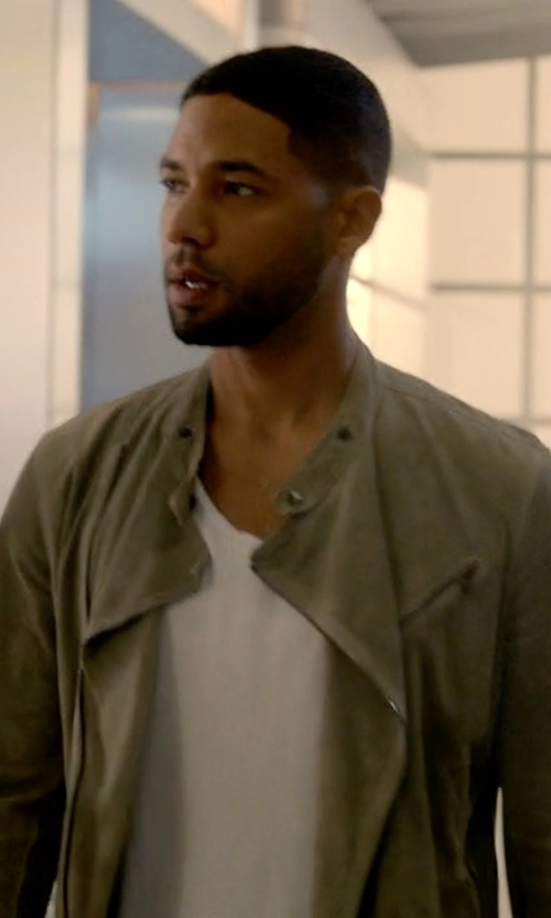 Jussie Smollett with Dolce & Gabbana Classic Round Neck T-Shirt in Empire
