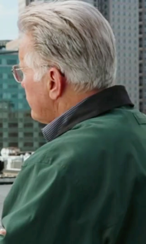 Martin Sheen with Weatherproof Lightweight Bomber Jacket in The Departed