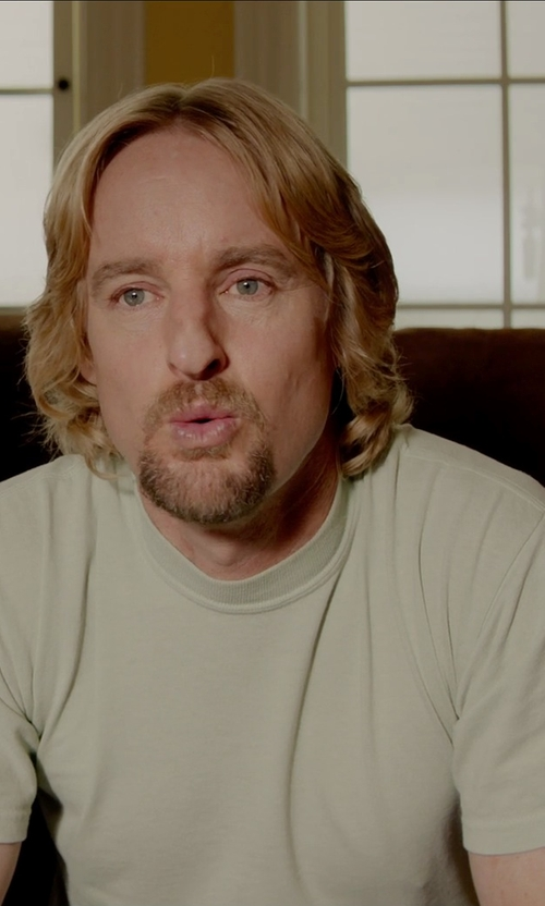Owen Wilson with Fanmail Boxy T-Shirt in Masterminds