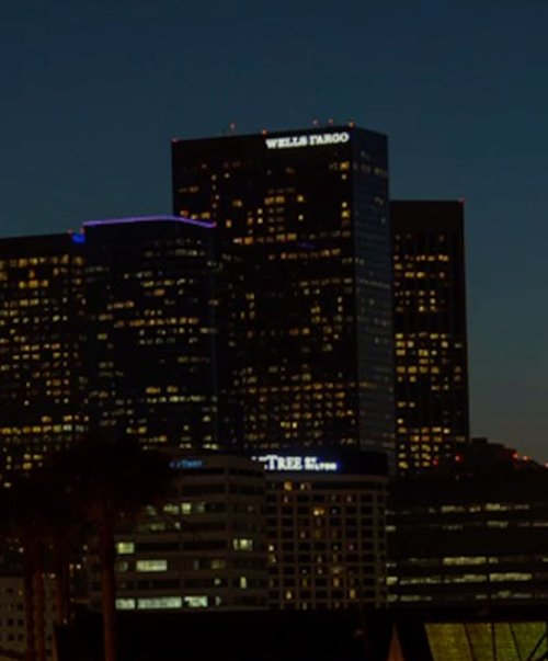Unknown Actor with Wells Fargo Center Los Angeles, California in Horrible Bosses 2