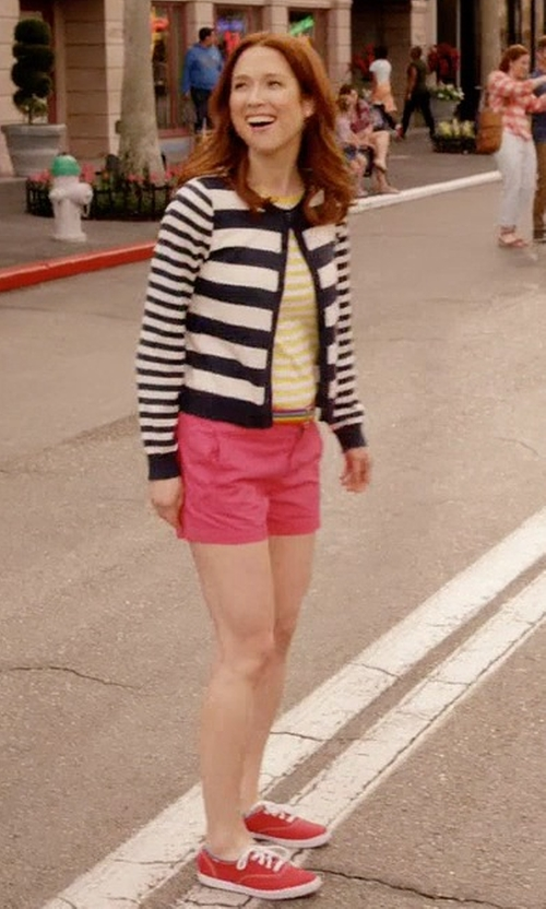 Ellie Kemper with Vans Authentic Lo Pro Sneakers in Unbreakable Kimmy Schmidt