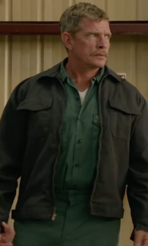 Thomas Haden Church with Carhartt Arctic Coat Firm Cotton Duck Jacket in Max