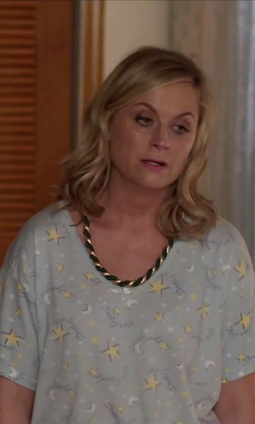 Amy Poehler with Carole Hochman Women's Cotton Floral-Printed Sleepshirt in Sisters