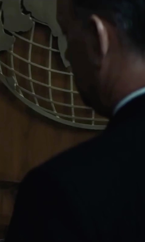 Tom Hanks with Maison Margiela Solid Two-Piece Suit in Bridge of Spies