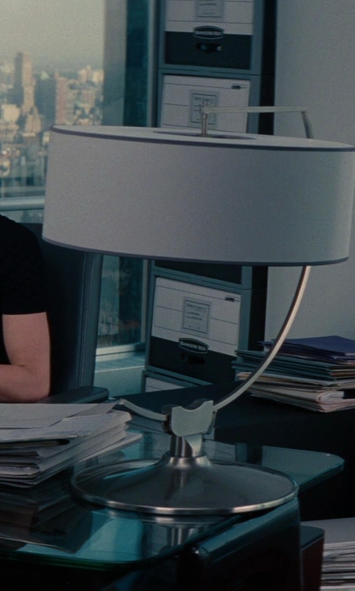 Cameron Diaz with Galaxy Arc Chrome Downbridge Desk Lamp in The Other Woman