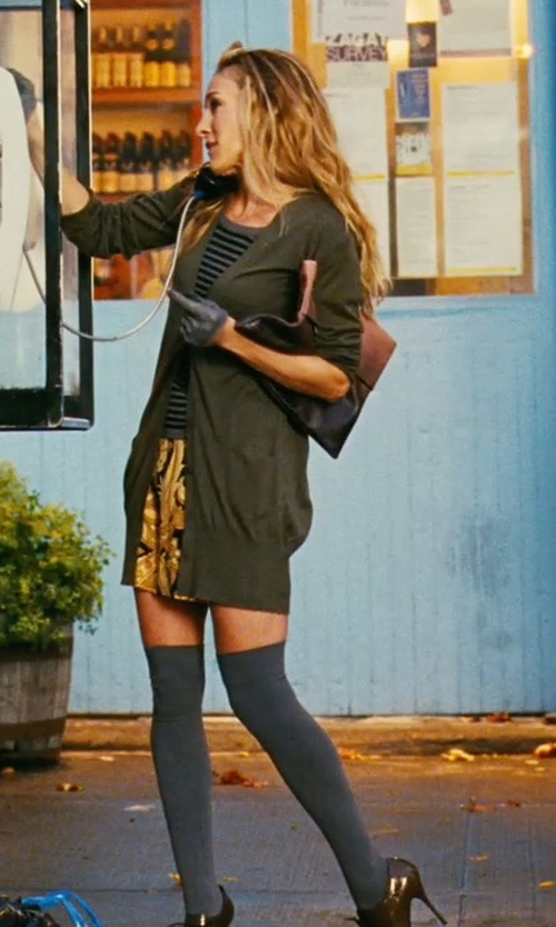 Sarah Jessica Parker with Smartwool Basic Knee High Socks in Sex and the City