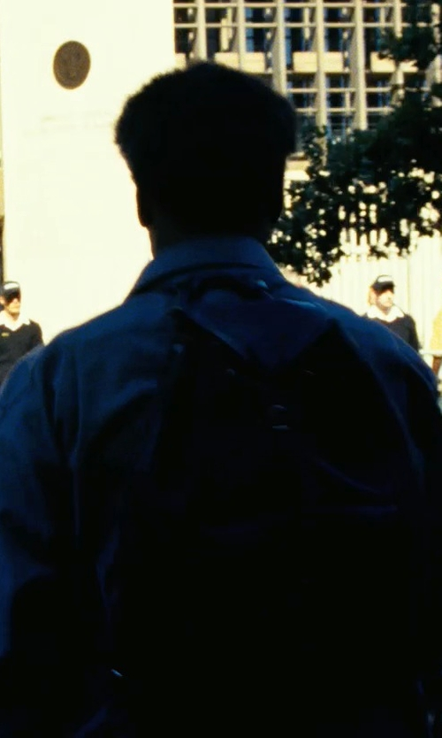 Denzel Washington with 8 Leather Backpack in Safe House