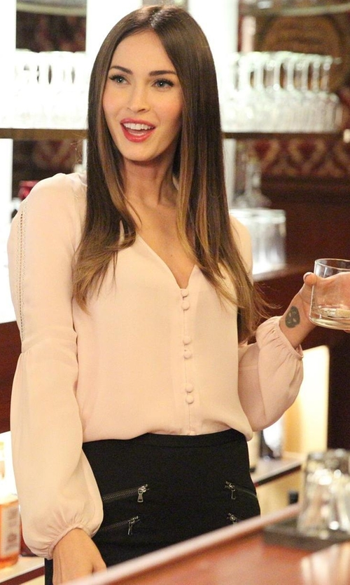 Megan Fox with Carmella Tiesa Top in New Girl