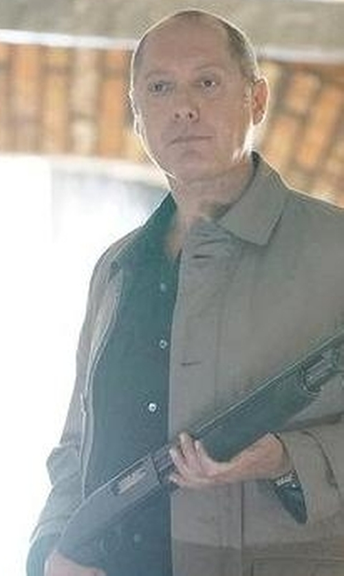 James Spader with G-Star Core Long Sleeve Shirt in The Blacklist