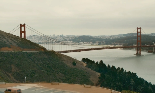 Unknown Actor with Golden Gate Bridge San Francisco, California in Ant-Man