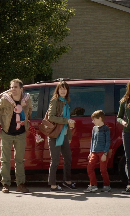 Rosemarie DeWitt with Comme Des Garçcons Play Low Top Converse in Poltergeist