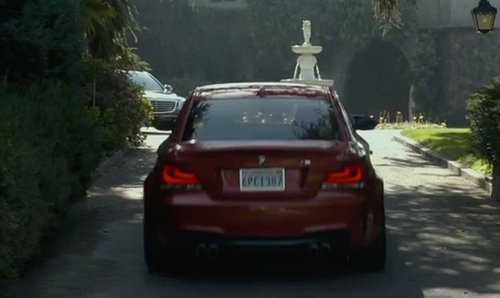 Mark Wahlberg with BMW 1M in The Gambler