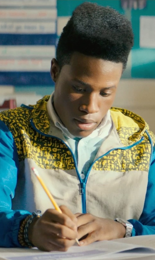 Shameik Moore with Threads 4 Thought Men's Malibu Zip Hoodie Jacket in Dope