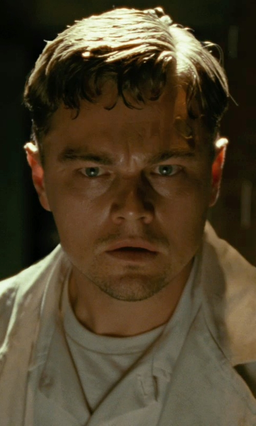 Leonardo DiCaprio with Jockey Men Crew Neck 2 T Shirts Pack in Shutter Island