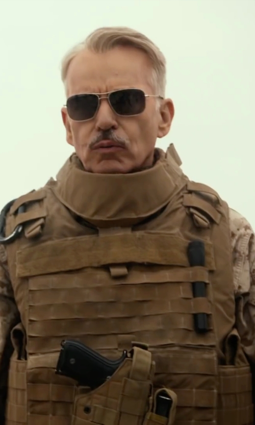 Billy Bob Thornton with Tru-Spec Digital Battle Shirt in Whiskey Tango Foxtrot