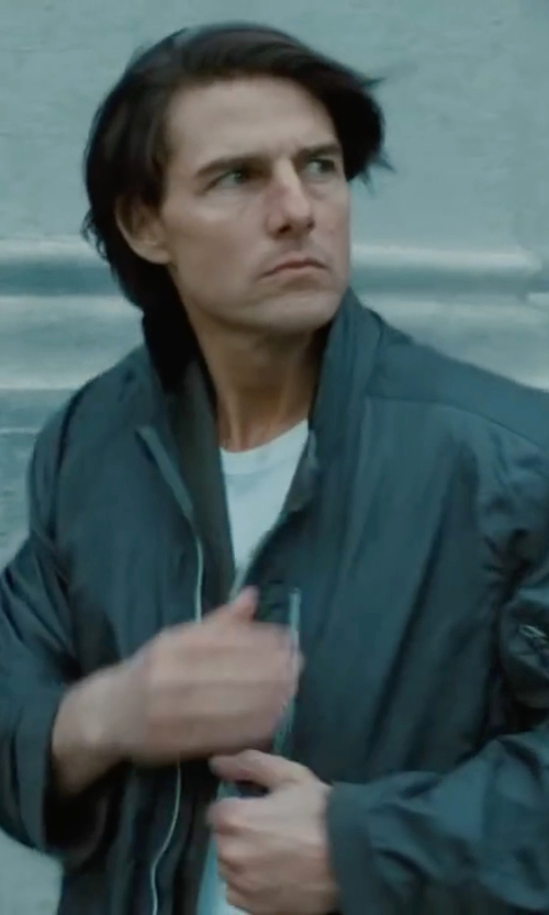 Tom Cruise with Black Diamond Equipment Stack Windstopper Soft Shell Jacket in Mission: Impossible - Ghost Protocol