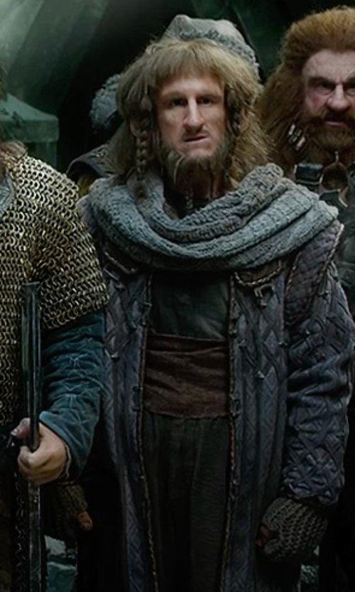 Adam Brown with Ann Maskrey & Bob Buck (Costume Designer) Custom Made Ori Costume in The Hobbit: The Battle of The Five Armies