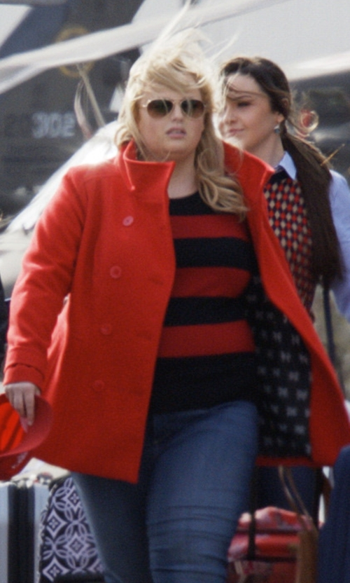 Rebel Wilson with Torrid Double Breasted Peacoat in Pitch Perfect 3