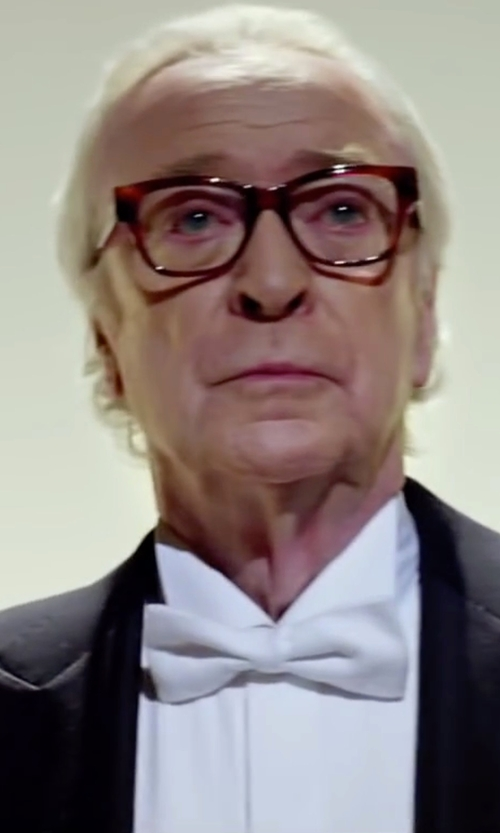 Michael Caine with Maison Margiela 14 Shirts in Youth