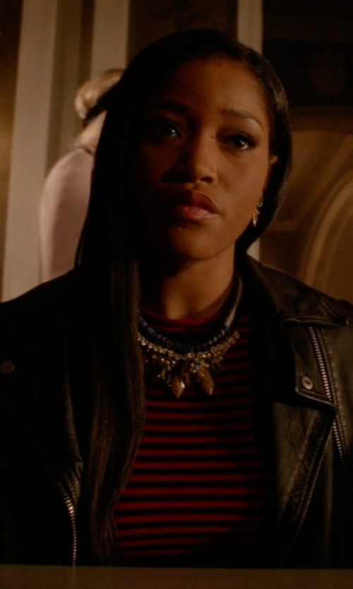 Keke Palmer with A.L.C. Dan Top in Scream Queens