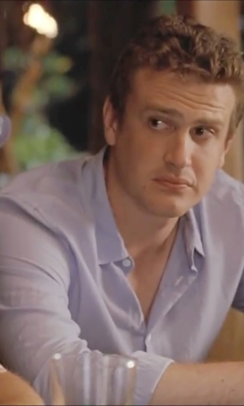 Jason Segel with Strellson Jamie Slim Fit Sportshirt in Forgetting Sarah Marshall