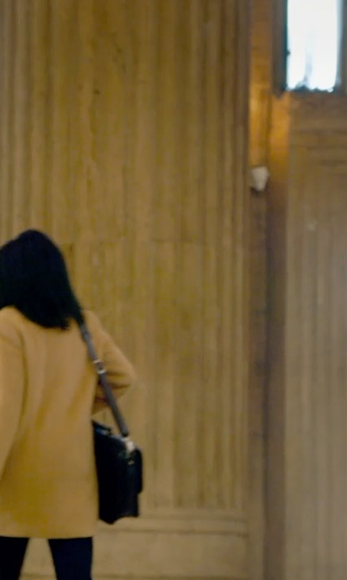 Kathryn Hahn with Boohoo Faux Fur Lined Hood Parka Jacket in The Visit