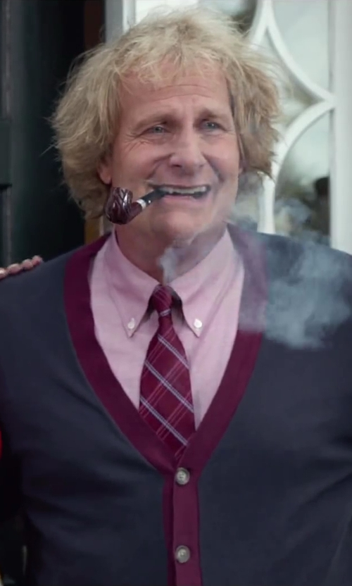 Jeff Daniels with Dr. Grabow Omega Pipe - Smooth Finish in Dumb and Dumber To